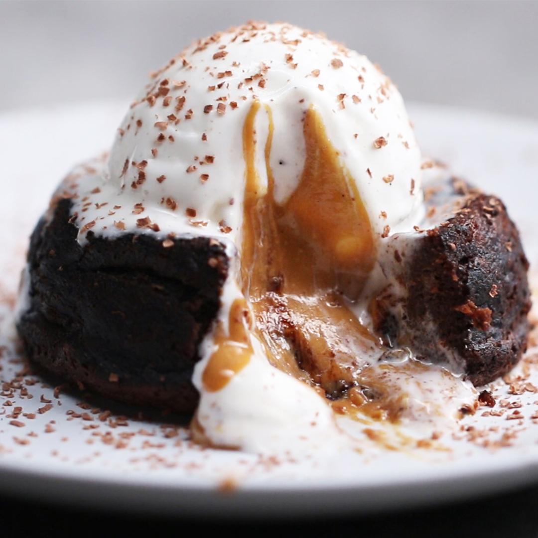 Chocolate Peanut Butter Lava Cake Buzzfeed