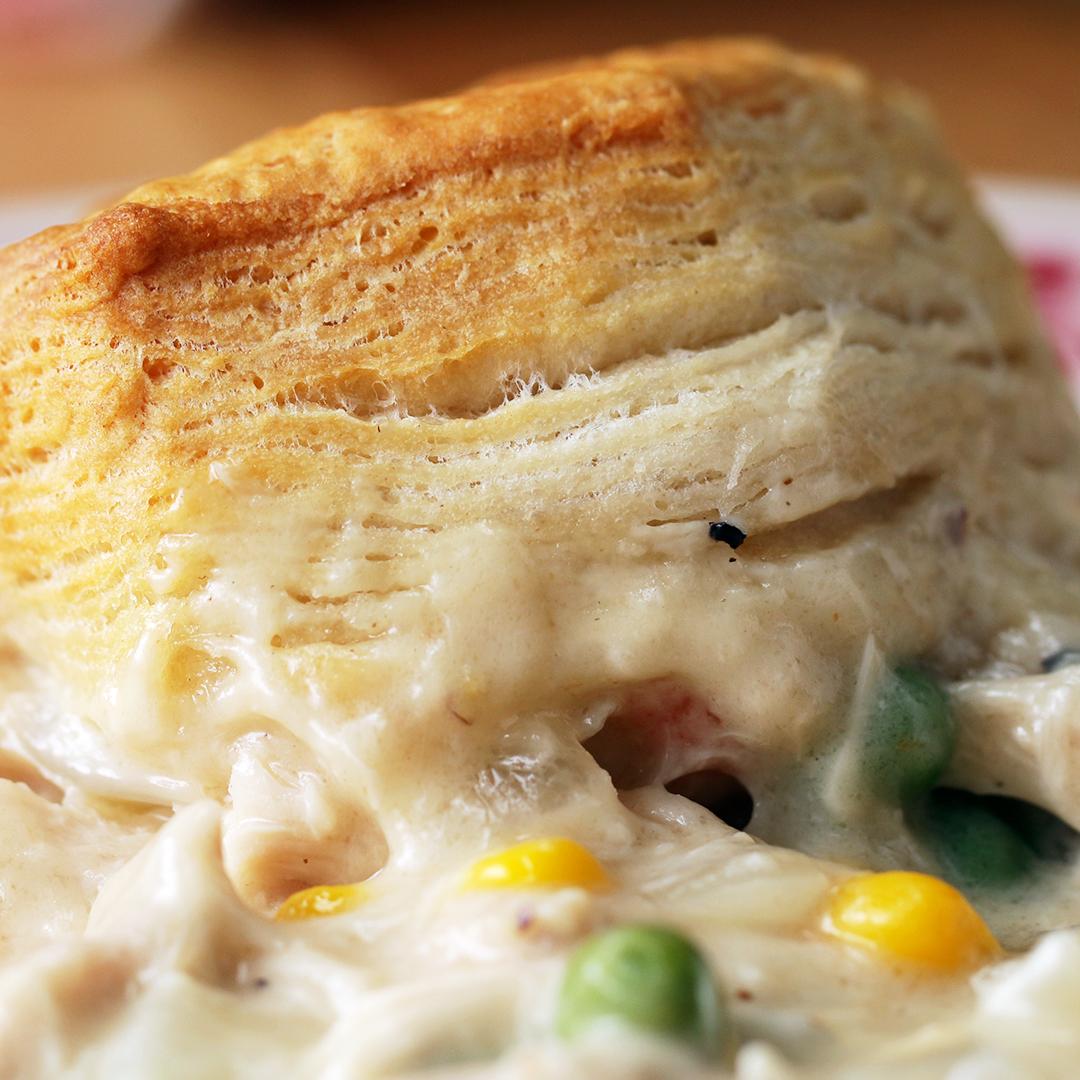 Chicken Amp Biscuits Bake Recipe By Tasty