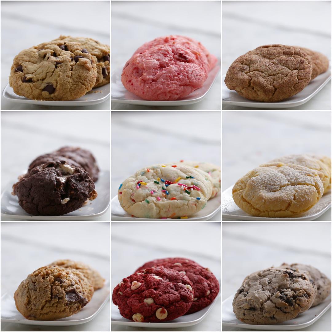 Cake Mix Cookies 9 Ways | Recipes