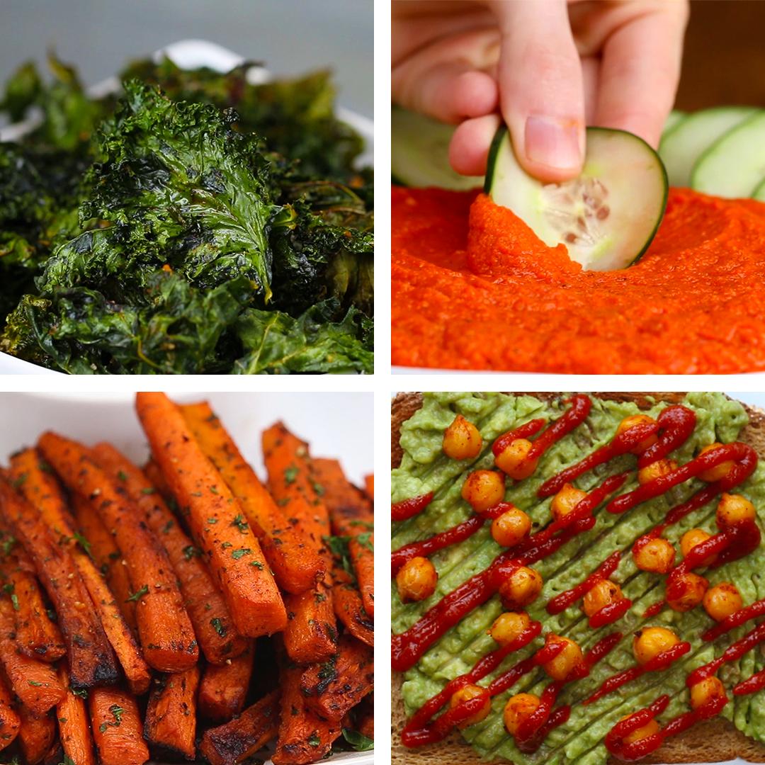 7 Simple & Healthy Snack Foods