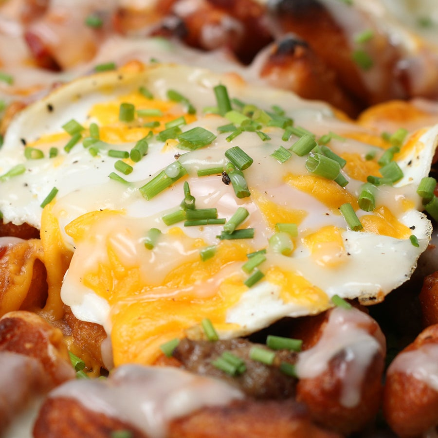 Breakfast Biscuit Fries