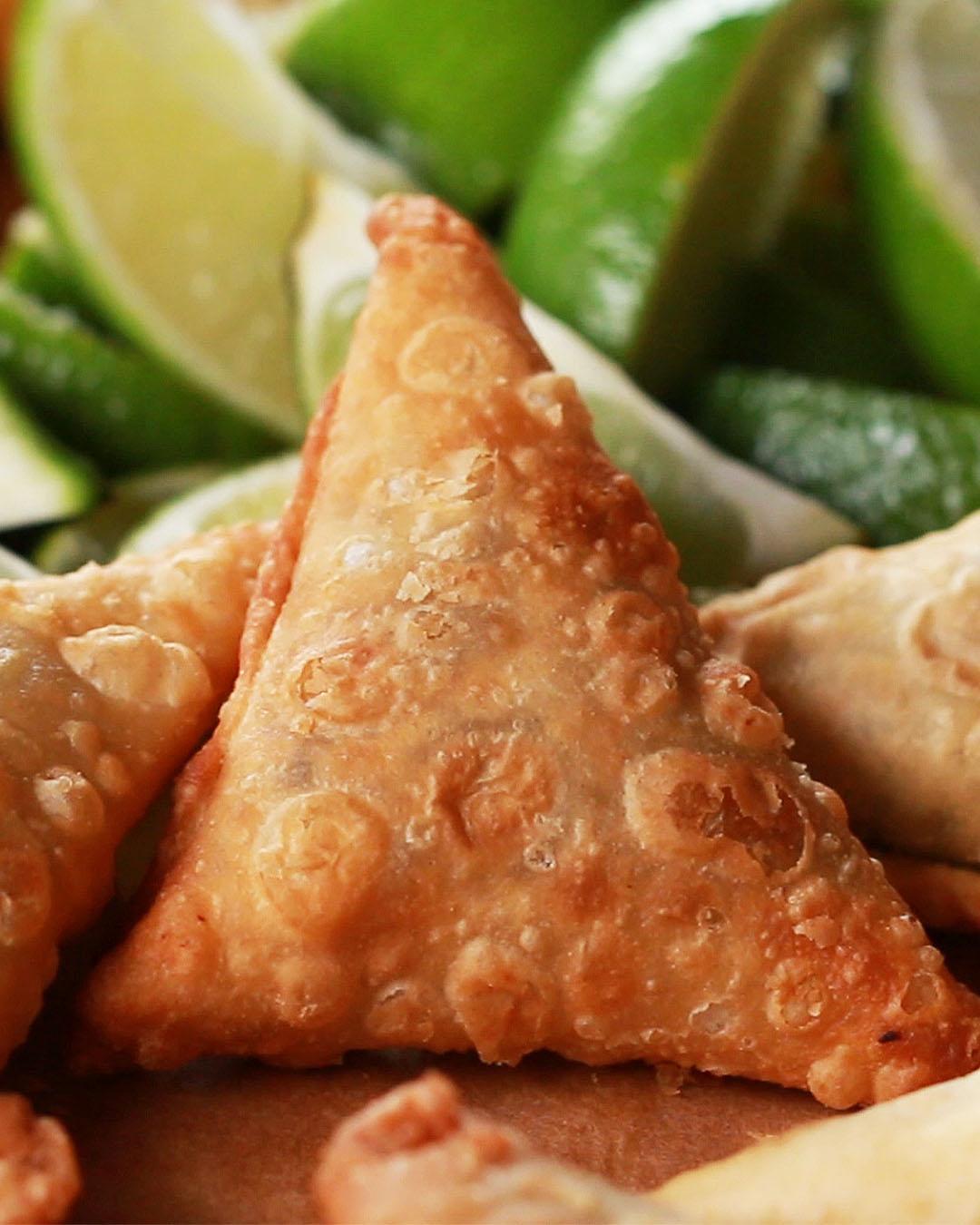 Kenyan Beef Samosas Recipe By Tasty