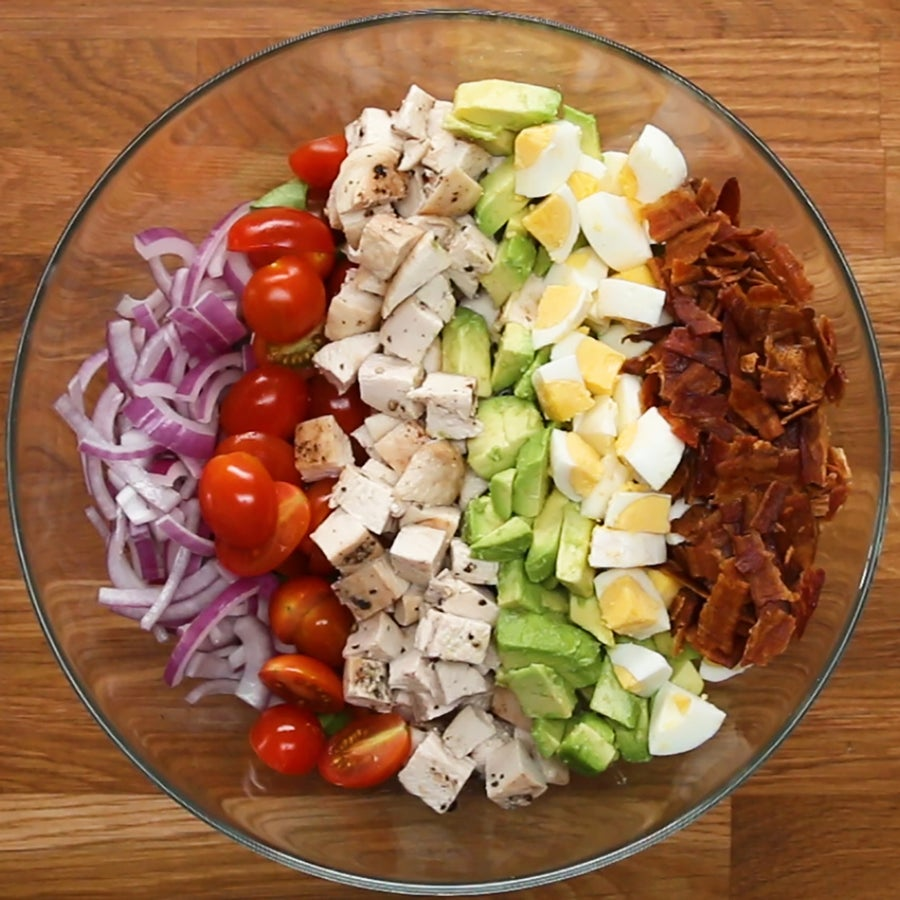 Chicken Cobb Salad With Homemade Ranch