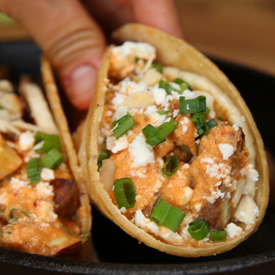 Sweet Potato Guerrilla Tacos