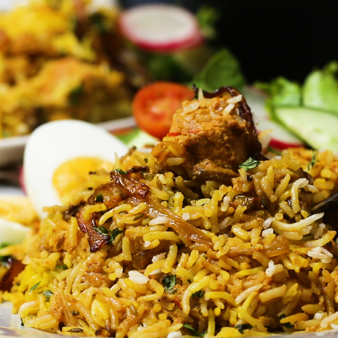 Chicken Tikka Biryani Recipe by Tasty