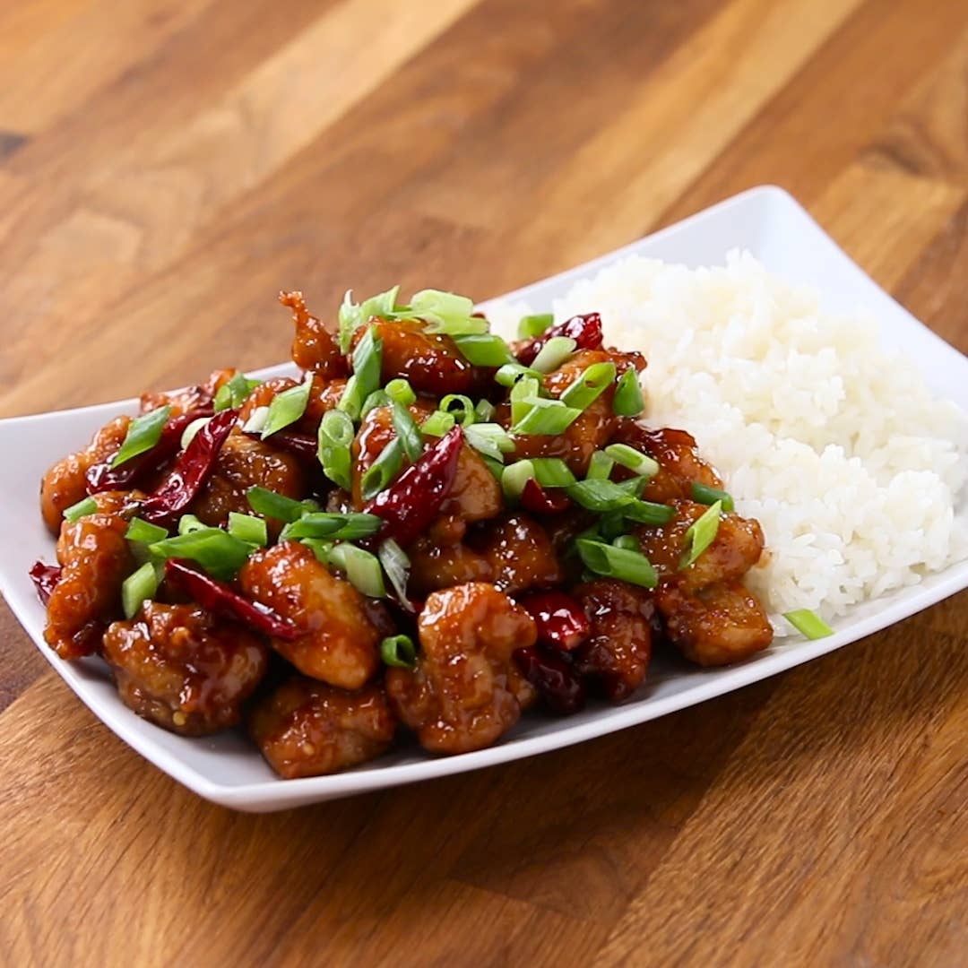 General Tso S Chicken Recipe By Tasty