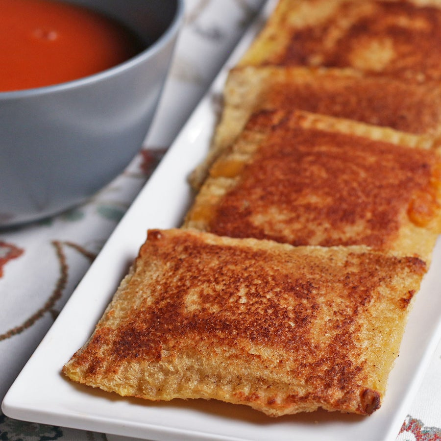 "Grilled Cheese ""Ravioli"""