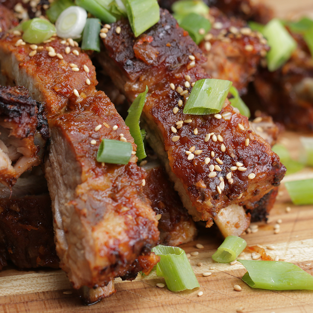 Korean-style Ribs Recipe by Tasty