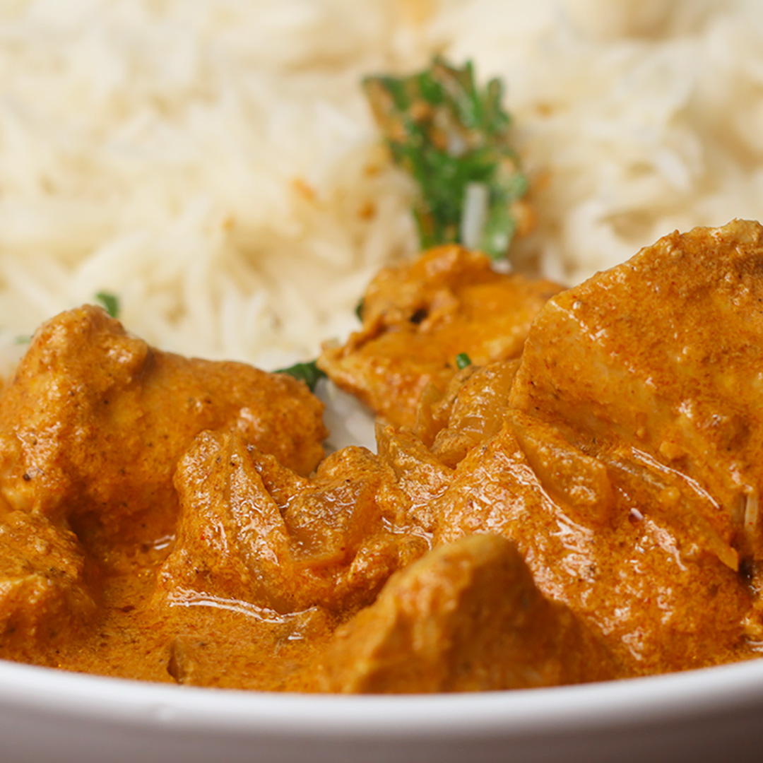 Slow Cooker Butter Chicken Recipe By Tasty