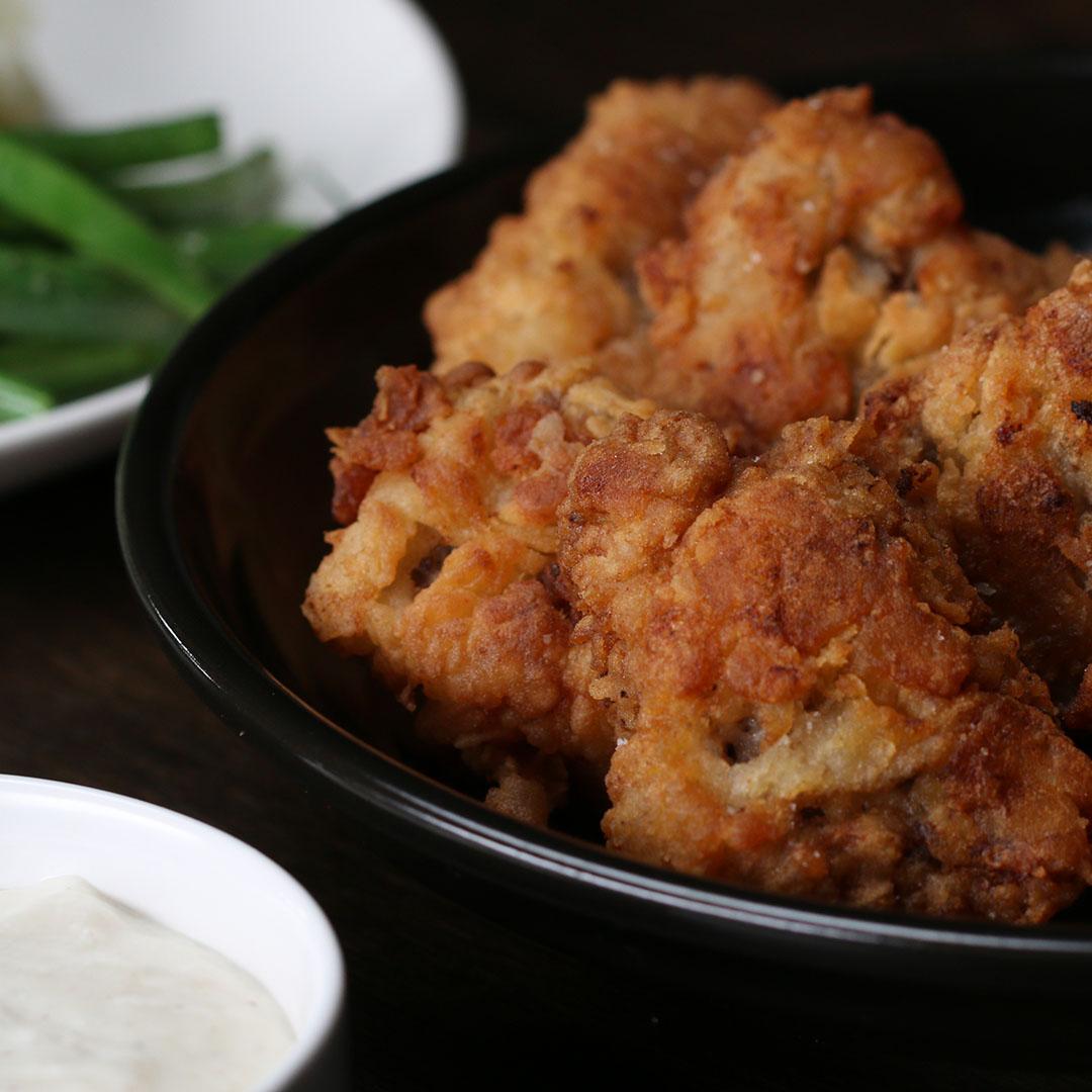 Chicken Fried Steak Bites Recipe By Tasty