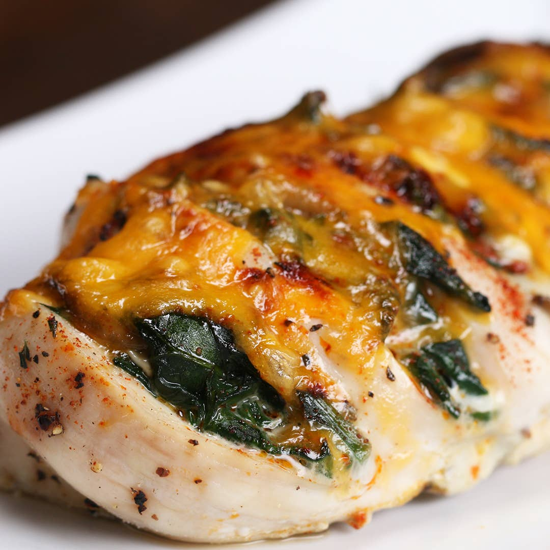 Cheesy Hasselback Chicken Recipe By Tasty