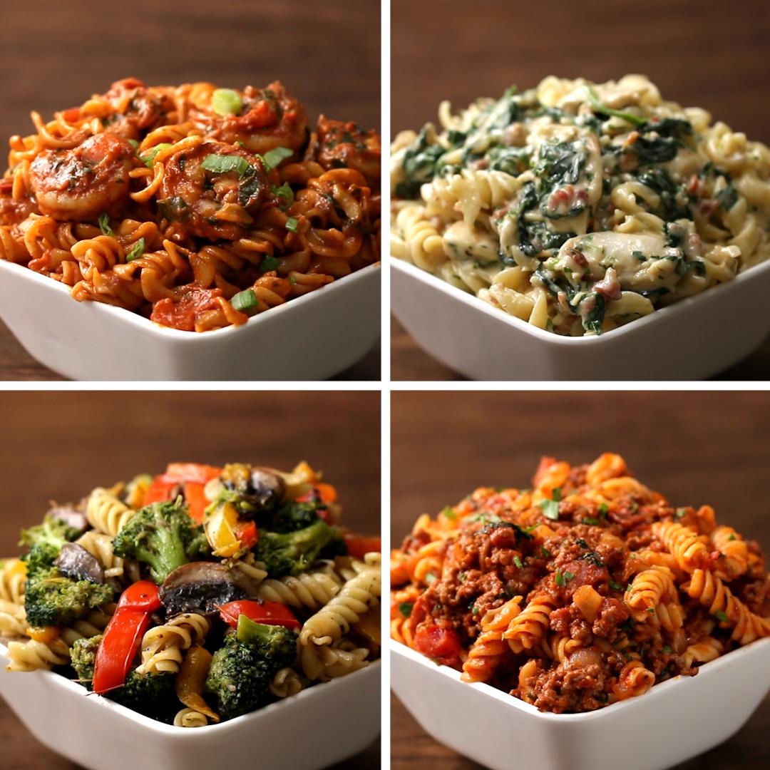 Rotini Pasta 10 Ways  Recipes