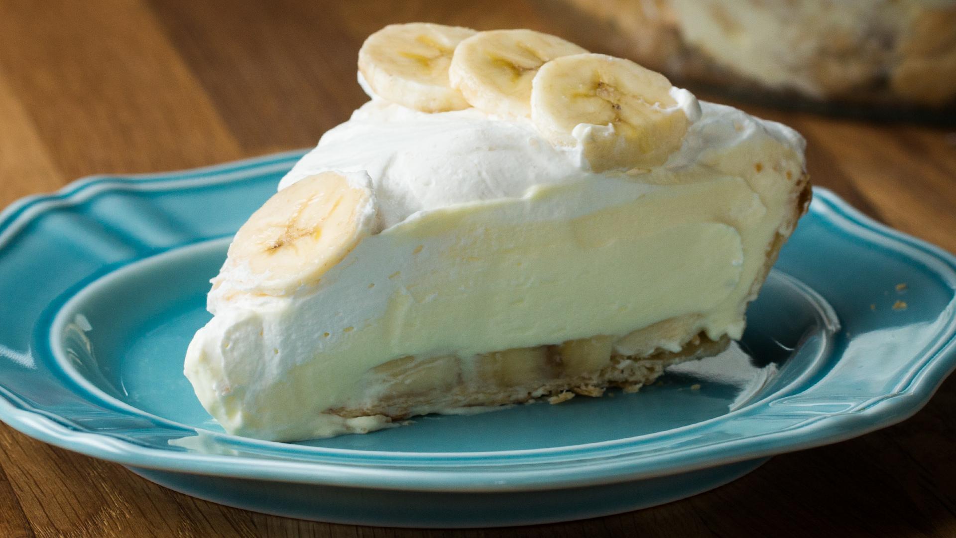 Banana Cream Pie Cheesecake Recipe