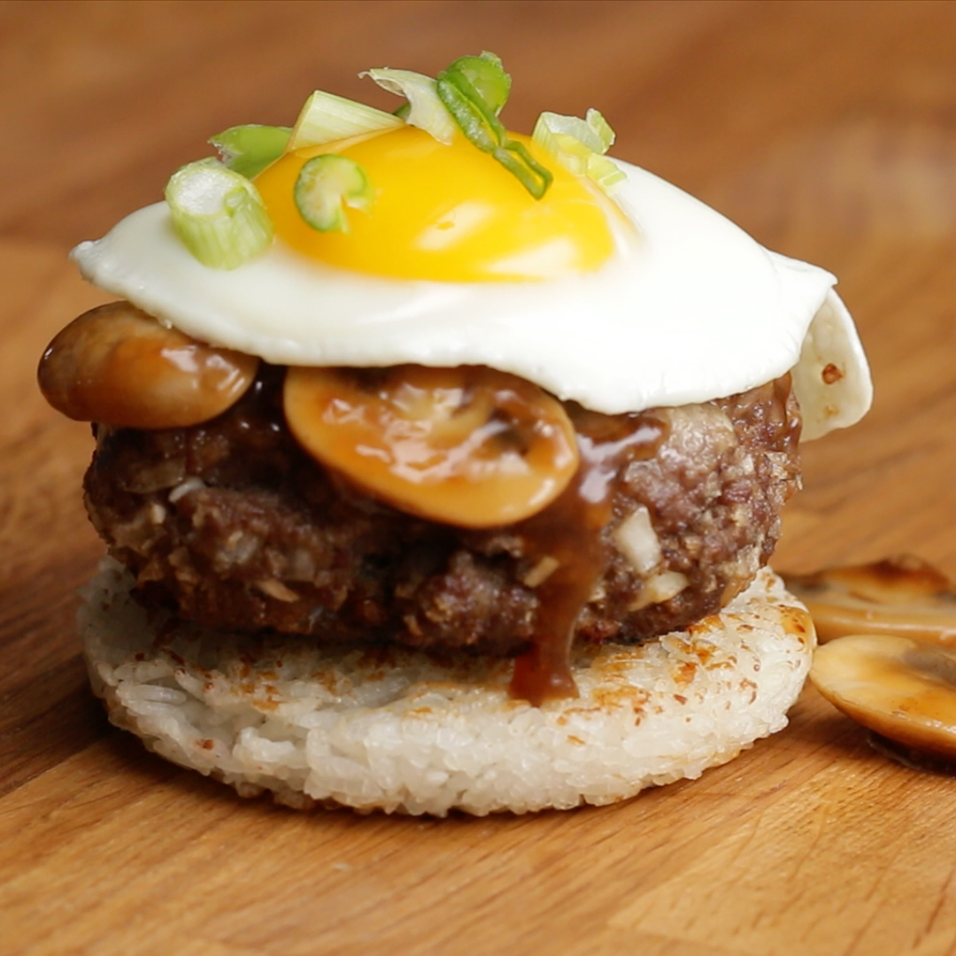 Loco Moco Rice Burger