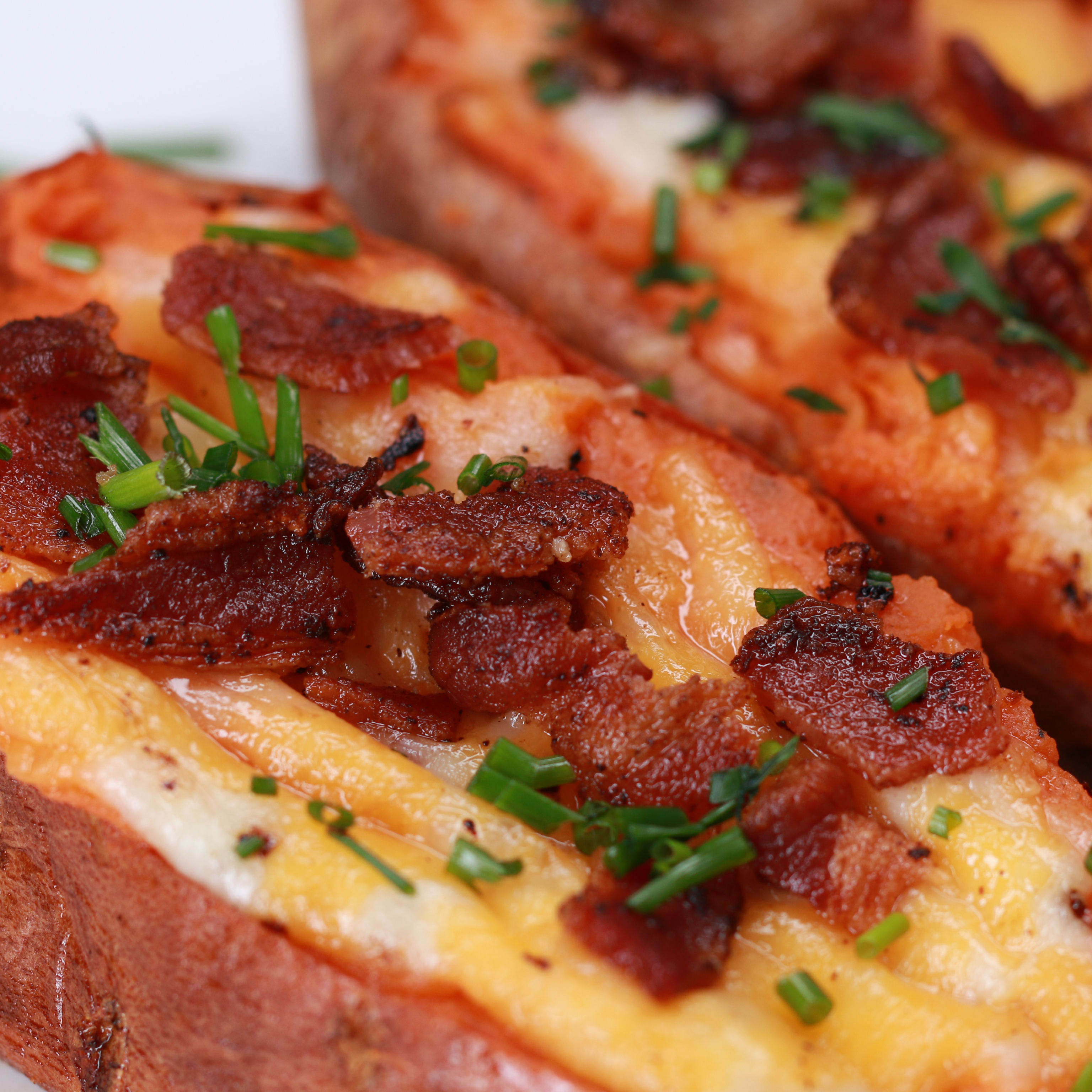 Loaded Breakfast Sweet Potato Recipe By Tasty