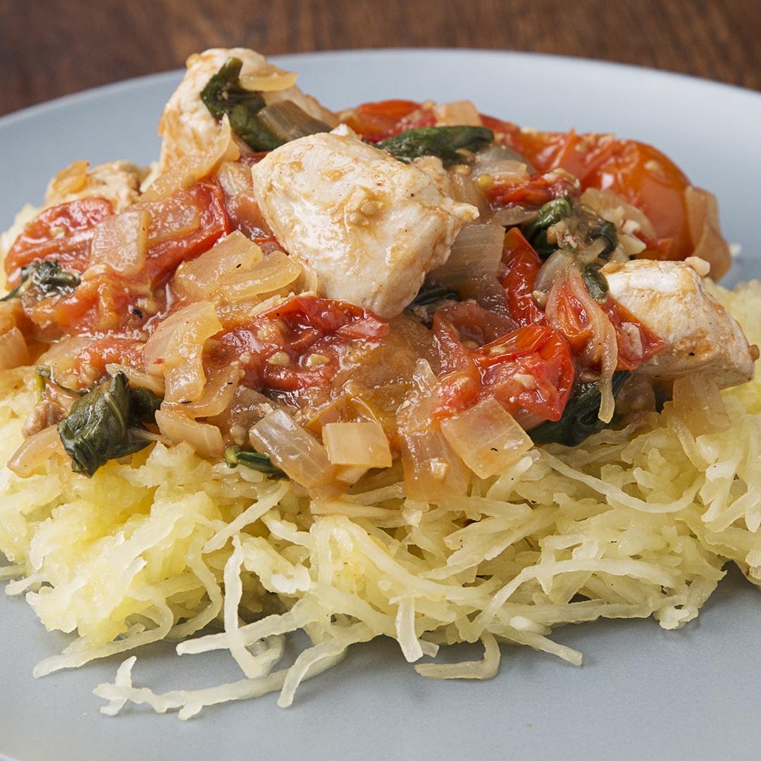 Lemon Chicken & Spaghetti Squash Recipe