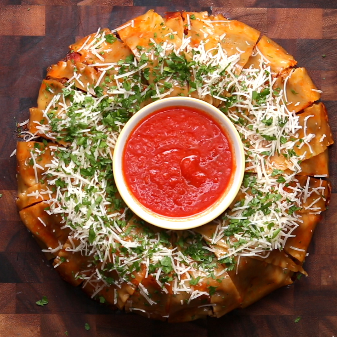 Lasagna party ring recipe by tasty forumfinder Gallery