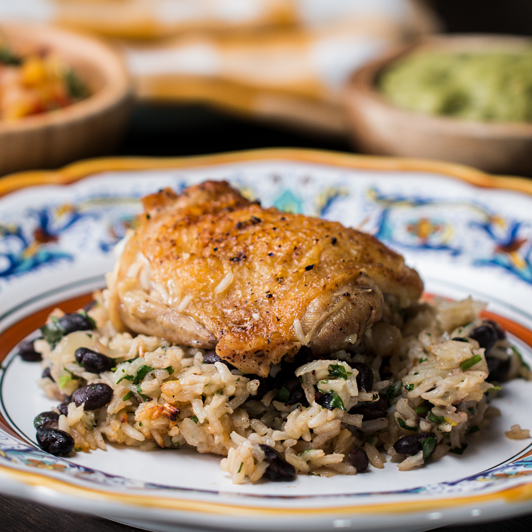 Zesty Lime Chicken Black Bean And Rice Recipe By Tasty