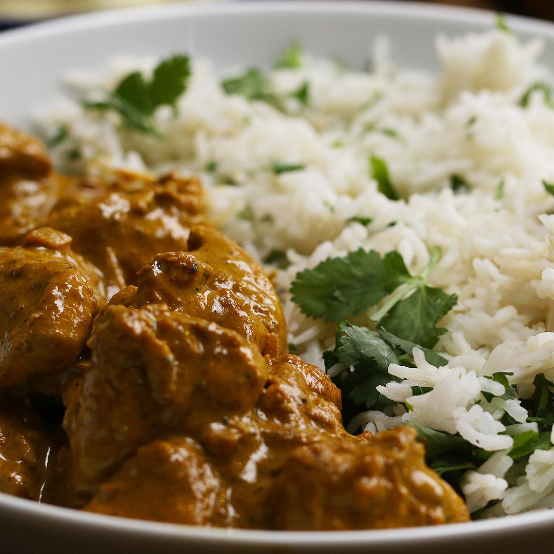 Lighter Chicken Korma Recipe by Tasty